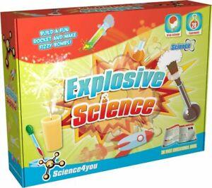 Science 4 You Explosive Science Experiments Kit STEM