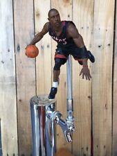 Miami Heat TAP HANDLE NBA Basketball Beer Keg Dwyane Wade Black Jersey