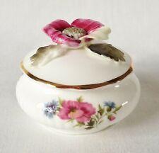 Royal Albert flor del mes agosto Floral Candy Box-Amapola En Caja