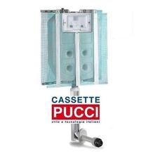 Pucci Eco cassetta di scarico da incasso doppio pulsante 9/4 lt. art.1315490001