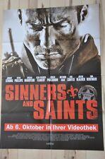 Filmposter Filmplakat A1 DINA1 - Sinners and Saints - Neu