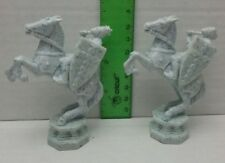 Harry Potter Wizard Chess 2 White Knight Set Used Plastic Replacement Parts 2002