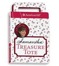 American Girl Samantha Treasure Tote New Mini Book Stickers Puzzle Paper Dolls