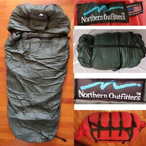 NORTHERN OUTFITTERS Arctic -30° Sleeping Bag Winter Extreme Cold Weather System