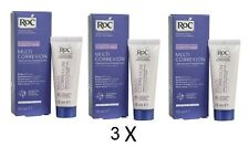 3 X RoC Multi Correxion 5 In 1 Anti-Age Moisturiser Cream 15ml Each