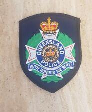 More details for original and obsolete queensland police shoulder patch