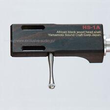 Yamamoto Sound Craft African ebony Headshell HS-1A + TY-1 Titanium finger hook
