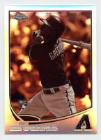 2013 Topps Chrome DIDI GREGORIUS Rookie Card RC SEPIA REFRACTOR #/75 Yankees #65