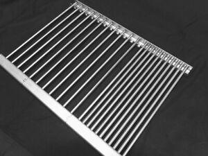 Alle Größen möglich 🔥1 Edelstahl Grillrost 340mm x 450mm Mr. Gardener Vancouver