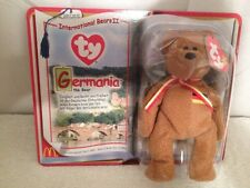 Ty International Bears Ii Collection Germania The Bear In Org Box-Never Opened