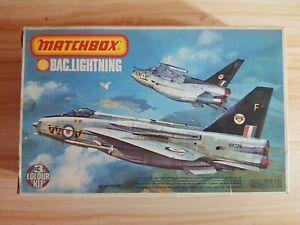 MATCHBOX PK-114 BAC LIGHTNING F.2A / F.6 1/72 Model Aircraft Kit 74 / 92 SQN