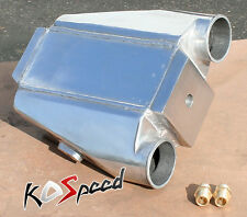 "UNIVERSAL ALUMINUM WATER TO AIR TURBO INTERCOOLER FMIC EXTRA COOLING 12""x12""x4.5"