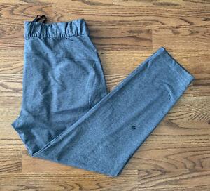 Lululemon Running Athletic Sweat Pants Women's Size 10 Gray EUC