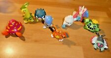 LOT OF 9 PCS POKEMON RARE TOY FIG FIGURE FINGER PUPPET SET NINTENDO BANDAI #081