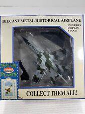 Tornado Diecast Airplane w/Stand Model Power Postage Stamp 1:100 NRFB