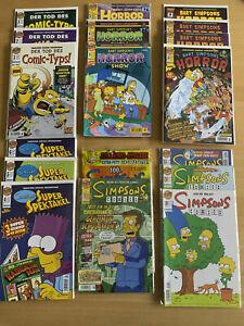 Simpsons Comics Sammlung - Hauptreihe, Bart Simpson und viele Nebenreihen