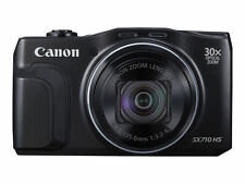 Canon PowerShot SX710 20.3MP Digital Camera - Black