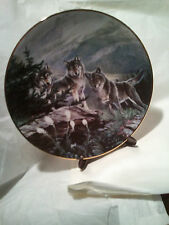 The Hamilton Collectors Plate ~ Guardians of the High Country - By Al Agnew Lt#