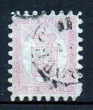 FINLAND 1860, 10 kop, VFU,(p25)