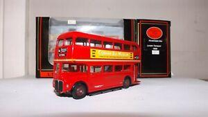 EFE 15605BB LONDON TRANSPORT RM CLASS ROUTEMASTER COBHAM 1995 D/D BUS 4MM SCALE