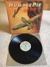 """HUMBLE PIE """"ON TO VICTORY"""" 1980 ATCO SD 38-122-SP  EX/VG- CONDITION LP"""