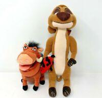 Disney Lion King Timon And Pumba Plush Doll Toy New