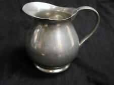 Royal Holland Pewter Daalderop Tiel Royal Holland Pitcher 6 inches tall