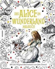 Das Alice im Wunderland Malbuch von Lewis Carroll (2016, Gebundene Ausgabe)