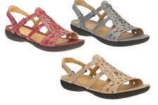 Sandalias y chanclas de mujer de color principal beige de piel talla 41