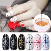 5ml Spider UV Gel Polish Elastic Soak Off Nail Art Tips Manicure Decor Accessory