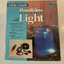 LITTLE GIANT PONDGLOW LOW VOLTAGE SUBMERSIBLE LIGHT KIT 20 WATT 12 VOLT