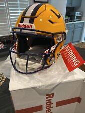 LSU TIGERS NCAA Riddell SpeedFlex Full Size Authentic Football Helmet
