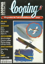 """LOOPING N°49 PLAN """"SPEED WING"""" AILE VOLANTE - """"FOX"""" PSS / AERODYNAMIQUE / COFFRA"""