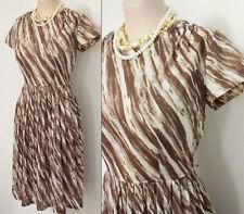 Nylon Everyday Vintage Dresses for Women