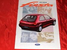 FORD Fiesta Focus Flair Fun Ghia Prospekt von 1995