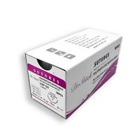 5/0 Surgical Training Sutures Polypropylene Monofilament, Pack of 12, Sterile