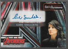 UD Avengers Age of Ultron Auto Cobie Smulders as Maria Hill AA-CS