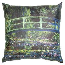 Monet Bridge at Giverny Pillow