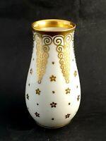 Thomas Bavaria Vase 1016 H.: 12,5 cm weiss /Gold Antik Jugendstil/Art Deco