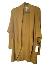 NWT Leith Women's Dolman Sleeve Cardigan Sweater Yellow Size S