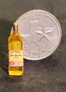 Dollhouse Miniature Jose Cuervo Tequila Gold 1:12 Margarita Alcohol Bar 53092
