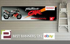 Honda CBR Fireblade urbano Tiger Banner para taller, garaje, Pit Lane, Cueva de hombre