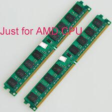 New 4Go 2GB 2x2GO DDR2 800 MHz PC2-6400 240 broches Carte mère pour la mémoire d