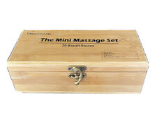 """Beautiful Life"" Basalt Stones w/Box 20pcs/set ""The Mini Massage Set"""