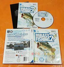 BIC CATCH BASS FISHING 2 - Nintendo Wii, Wii U - Italiano 1ª Ed COMPLETO - FN