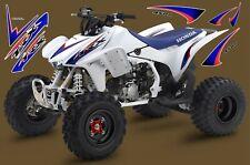 HONDA TRX 450R / DECAL KIT / GRAPHICS / INTENSE BLUE