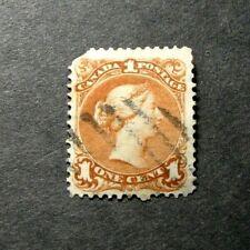 Canada Stamp Scott# 22 Queen Victoria 1868-76  L276