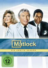 MATLOCK S2 (ANDY GRIFFITH, NANCY STAFFORD, KENE HOLIDAY,...) 6 DVD NEU