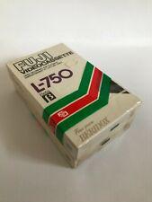 More details for new sealed 2x fuji betamax beta l-750 blank video cassette tapes (fine grain)