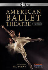 American Masters: American Ballet Theatre At 75 DVD Dance PBS Free Shipping